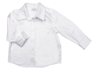 White Wash Button Down Shirt