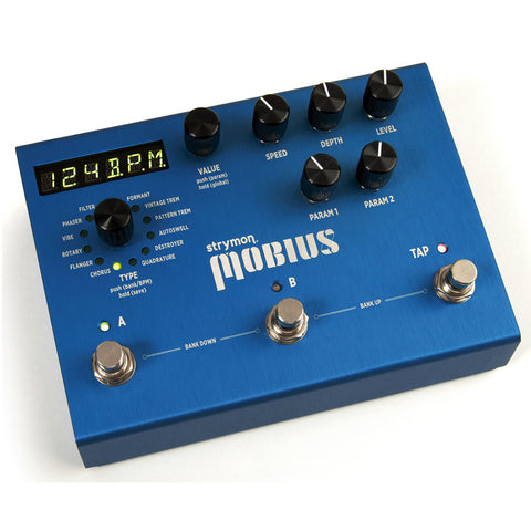 Strymon Mobius Modulation Effects Pedal | JnR Music Center, Hasselt