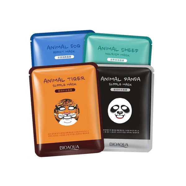 "ANIMALS ""WILD FUN"" NOURISHING SHEET FACE MASKS"