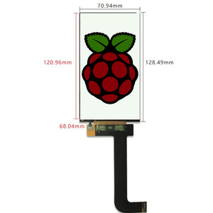 2K LCD display with HDMI to MIPI controller board