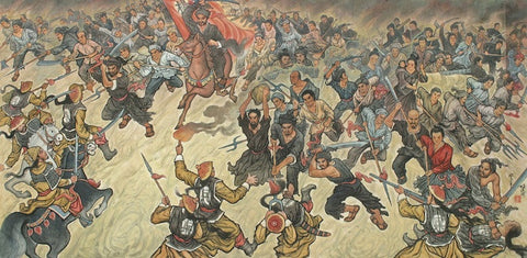 Battle of Lange and General Yang Dalu