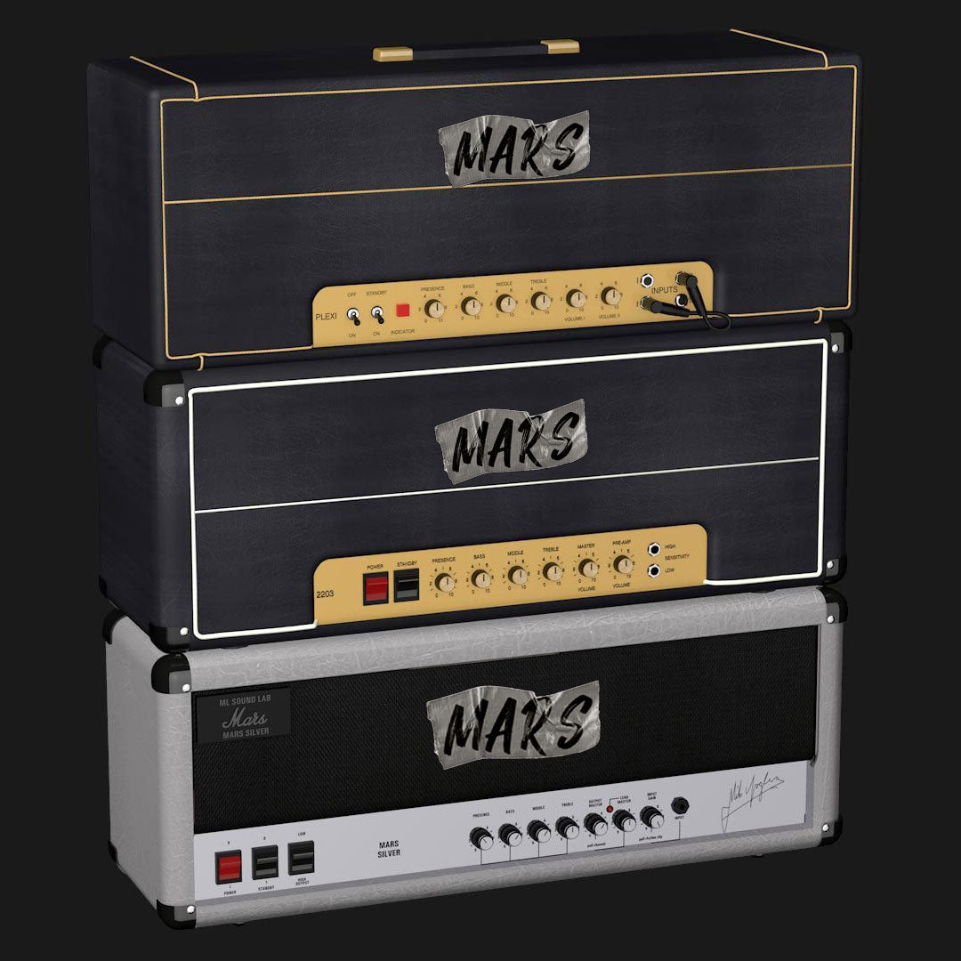 Mars Collection Amp Pack (Kemper)