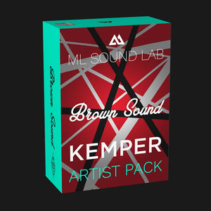 Brown Sound Artist Pack (Kemper)