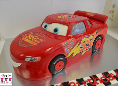 Lightning McQueen Cupcakes Auckland Wedding cakes birthday