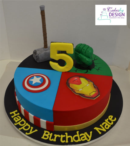 Avengers Awesome Foursome Cupcakes Auckland Wedding cakes