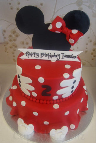 Minnie Mouse Hat 1 Cupcakes Auckland Wedding cakes birthday