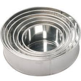 Round Tins - 5 inch to 16 inch available