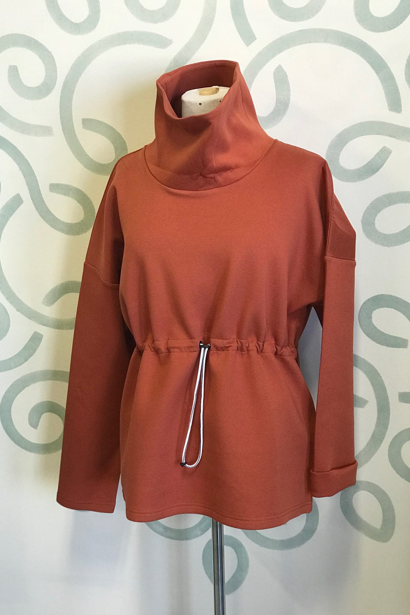 Modern Sweatshirt Orange