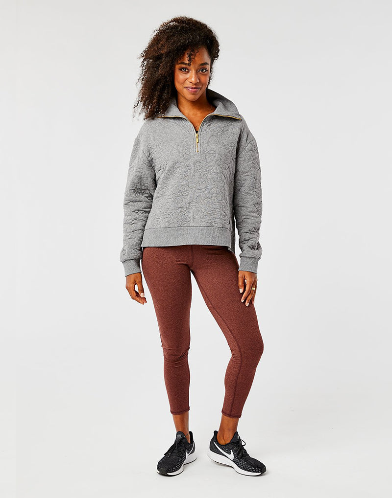 Mona 1/2 Zip Sweatshirt (2 colors)