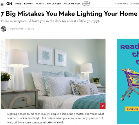 7 big mistakes you make lighting your home