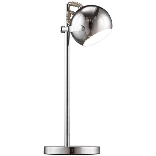 Cyber table lamp by Zuo modern lighting in chrome