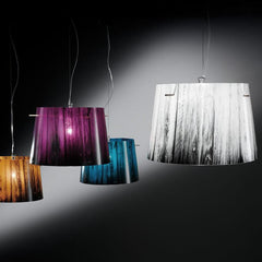 Woody Pendant by Luca Mazza for Slamp by Zaneen