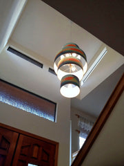 custom installation of twilight pendant by Rowan Chase