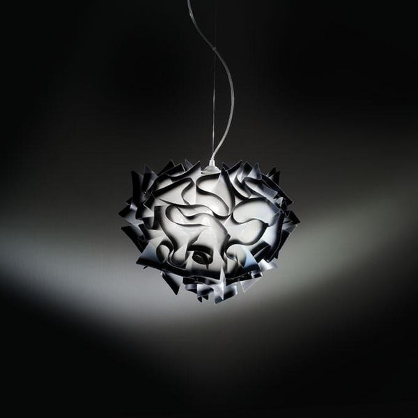 Veli-Suspension Charcoal a Pendant by SLAMP! - Lumigado lighting