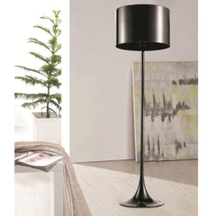 Black Tulip floor lamp FMI4001 by fine modern lifestyle