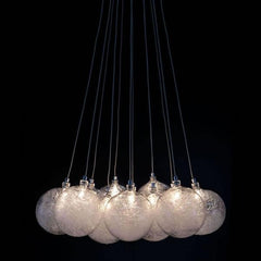 Cosmos suspension lighting by Zuo Modern black BG