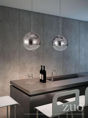 Kinetic pendant light by Zuo Modern Application