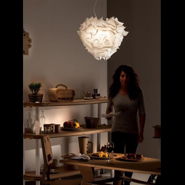 Veli-Suspension Opal a Pendant by SLAMP! - Lumigado lighting