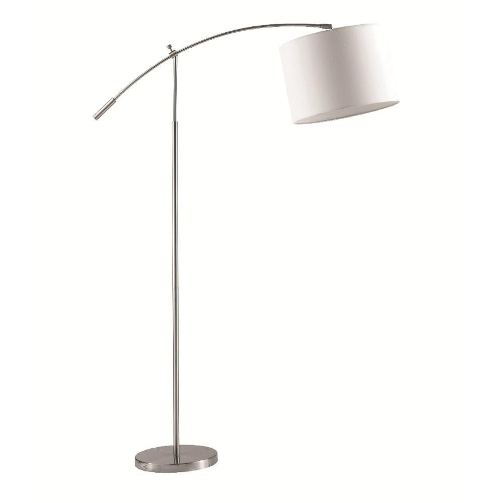 Elbow White arch floor lamp FMI9242  by Fine Modern imports