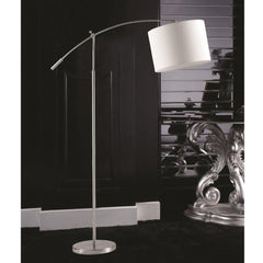 Elbow White arch floor lamp FMI9242  by Fine Modern imports lifestyle