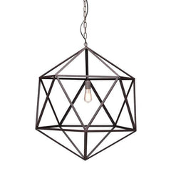Amethyst pendant by Zuo Modern Lighting Large