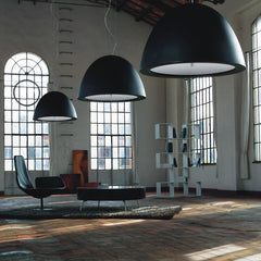 WILLY 100 contemporary ceiling pendant by Enzo Panzeri for Zaneen Lighting lifestyle