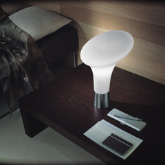 Bollard european table lamp by Enzo Panzeri for Zaneen Application
