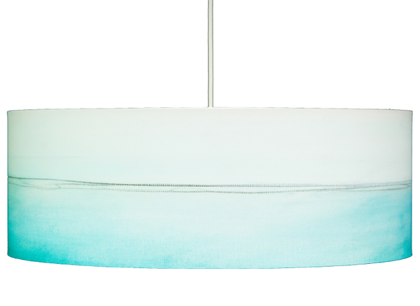 Aqua lines a Pendant by Rowan Chase - Lumigado lighting