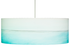 Aqua lines drum pendant light by rowan chase