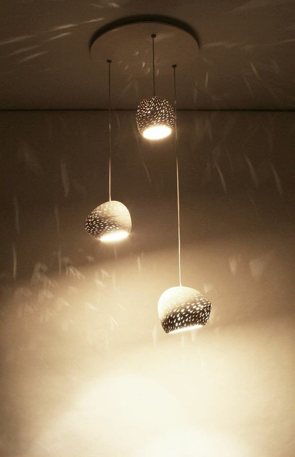 Claylighting Cluster in a Line Pattern - Ceiling - Lightexture - Lumigado Lighting