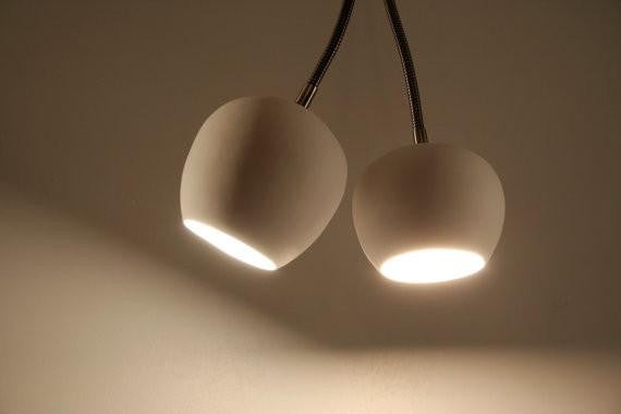 Claylight Double Spot a Ceiling by Lightexture - Lumigado lighting