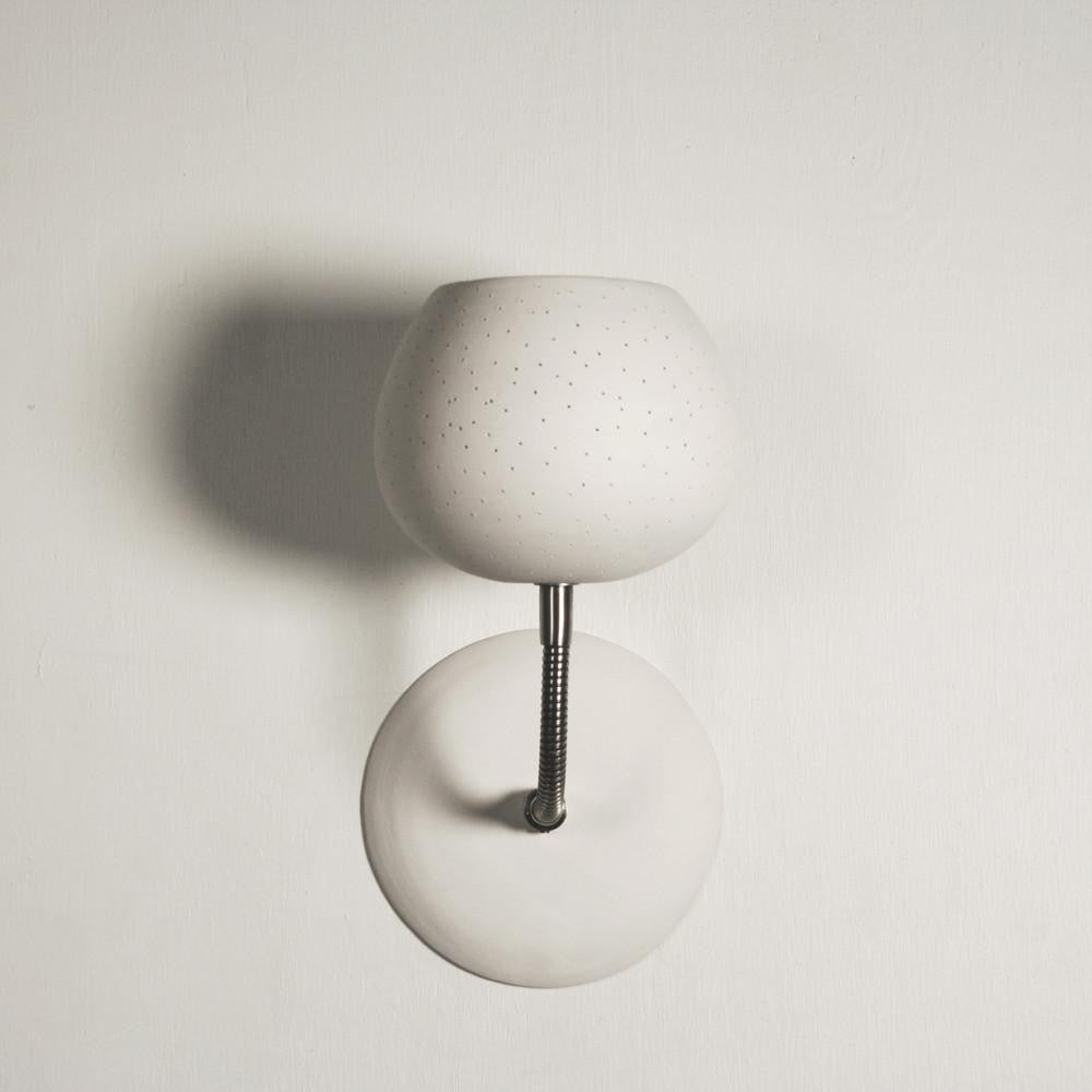 Claylight Sconce - Dot Pattern