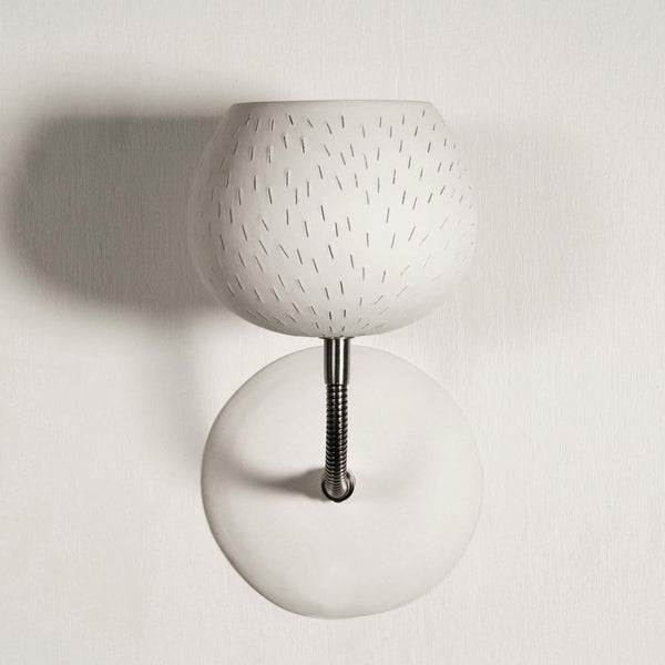 Claylight Sconce - Line pattern a Wall light by Lightexture - Lumigado lighting