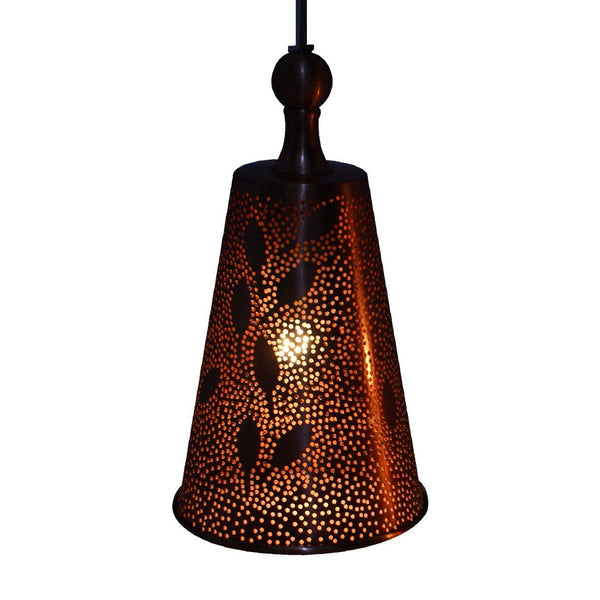 CONE PENDANT LIGHT MATT COPPER 20CM a Pendant by ASWAN INTERNATIONAL - Lumigado lighting