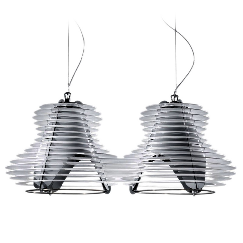 Faretto Pendant by Nigel Coates for Slamp by Zaneen