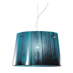 Woody Blue Pendant by Luca Mazza for Slamp by Zaneen