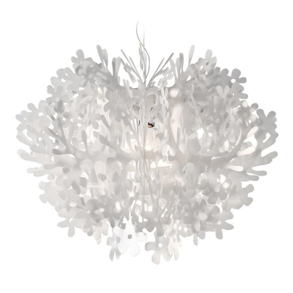 Fiorella Mini White a Chandelier by SLAMP! - Lumigado lighting