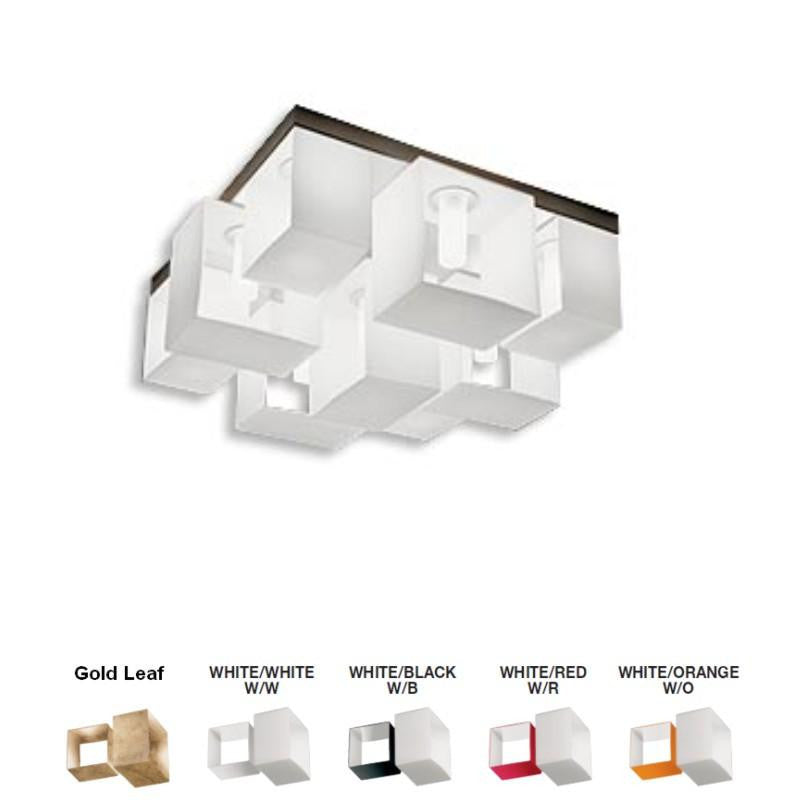 Domino Ceiling Lamp by Zaneen