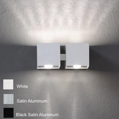 DAU Doble uplighter by Zaneen aluminum