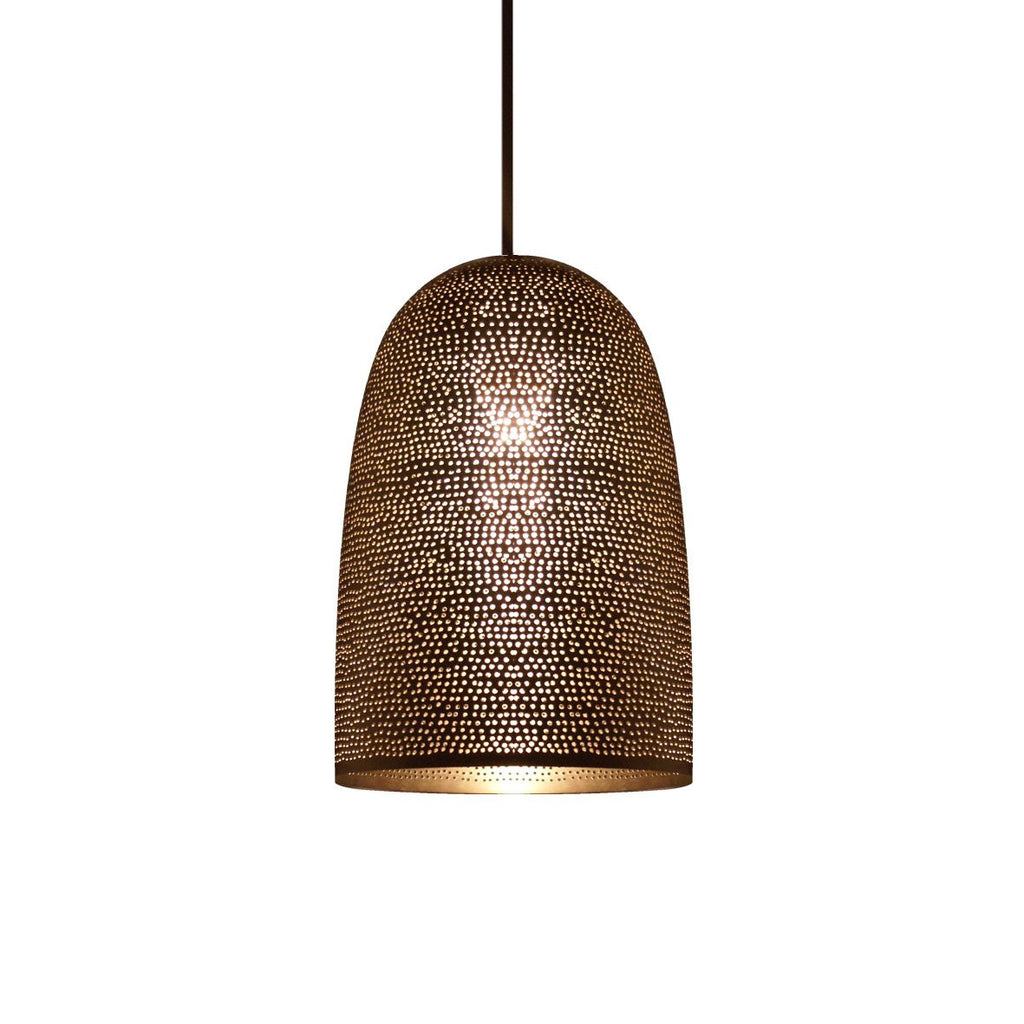 EGG PENDANT LIGHT MATT NICKEL 30 CM