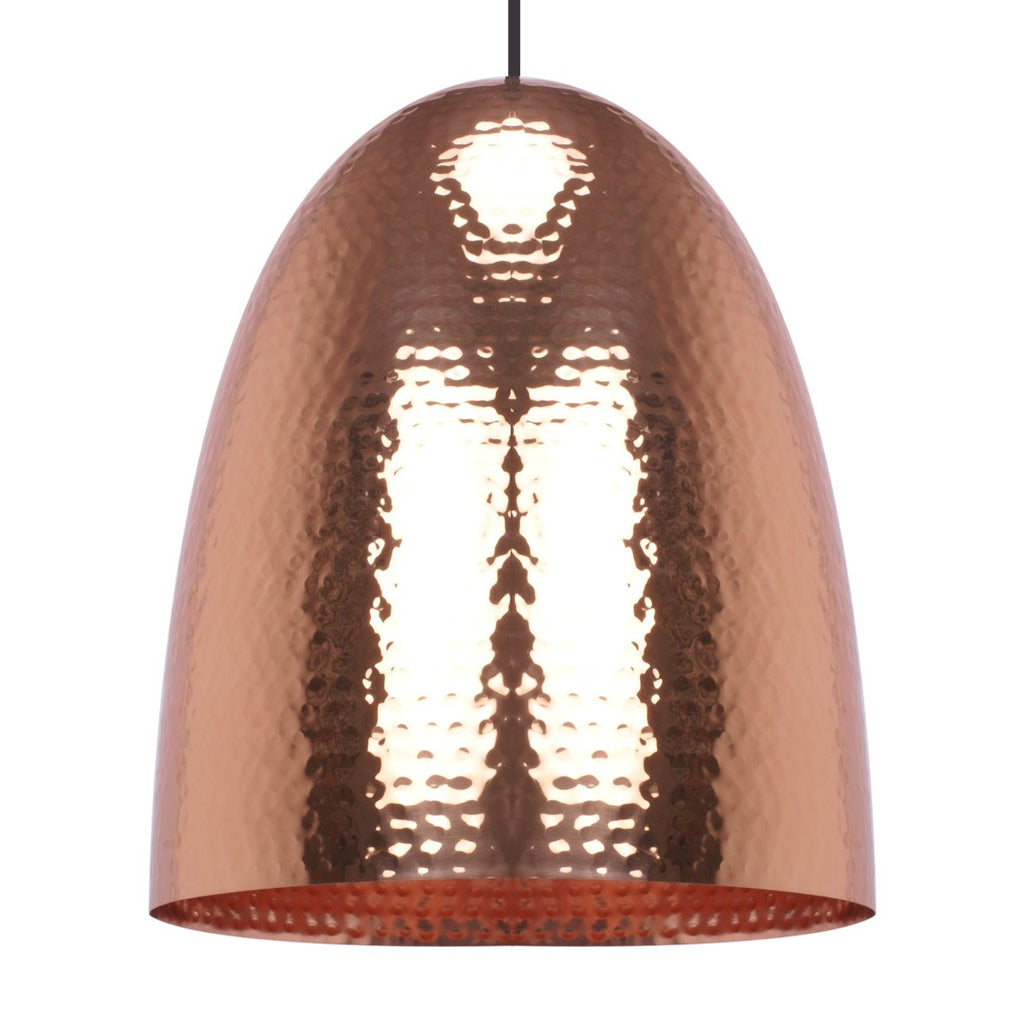 EGG PENDANT LIGHT BRIGHT BRASS 36CM