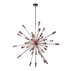 "Large Copper 39"" sputnik chandelier by Fine Modern Imports"