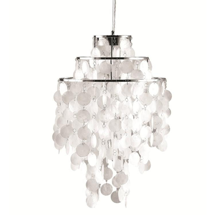 Pearl hanging chandelier 730669628641 FMI9279 by Fine Mod Imports
