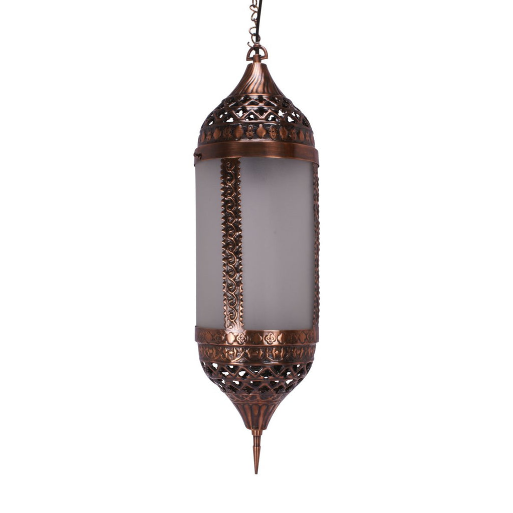FANUS PENDANT LIGHT ANTIQUE COPPER 70CM
