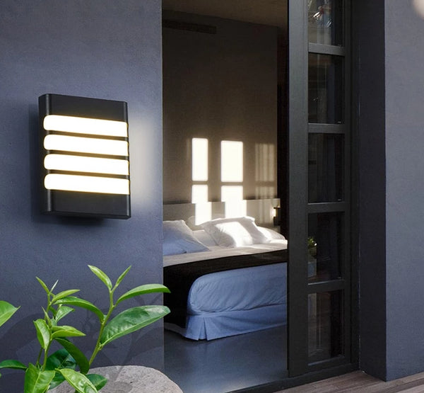 Visby Outdoor LED Wall Light Outdoor (Waterproof IP65) a Wall light by Lumigado - Lumigado lighting