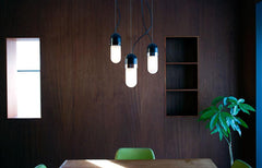 Well light pendant without shades by Ryan Taylor lifestyle