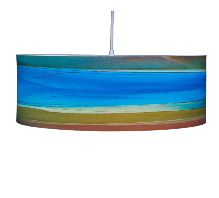 In The Mix colorful pendant by Rowan Chase