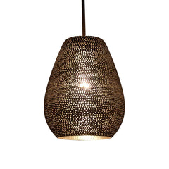 JAR PENDANT LIGHT MATT NICKEL 21CM