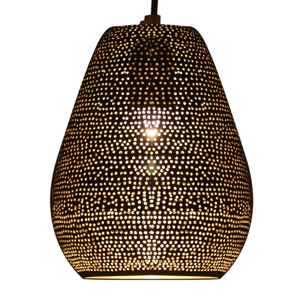 JAR PENDANT LIGHT MATT NICKEL 21CM a Pendant by ASWAN INTERNATIONAL - Lumigado lighting