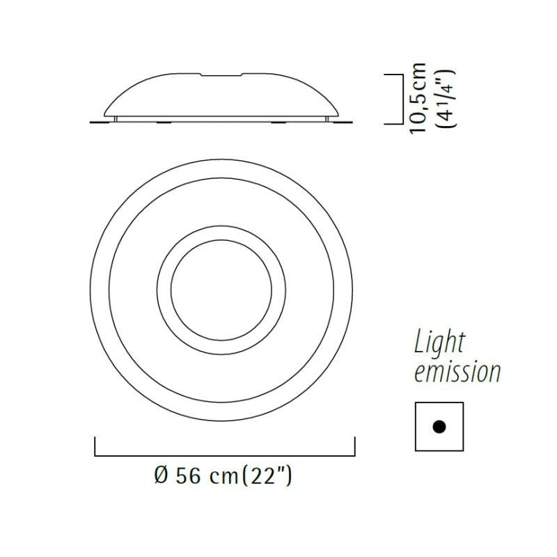 SAO - Ceiling/Wall Light